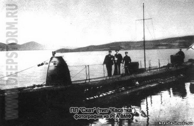 Фото подводной лодки скат